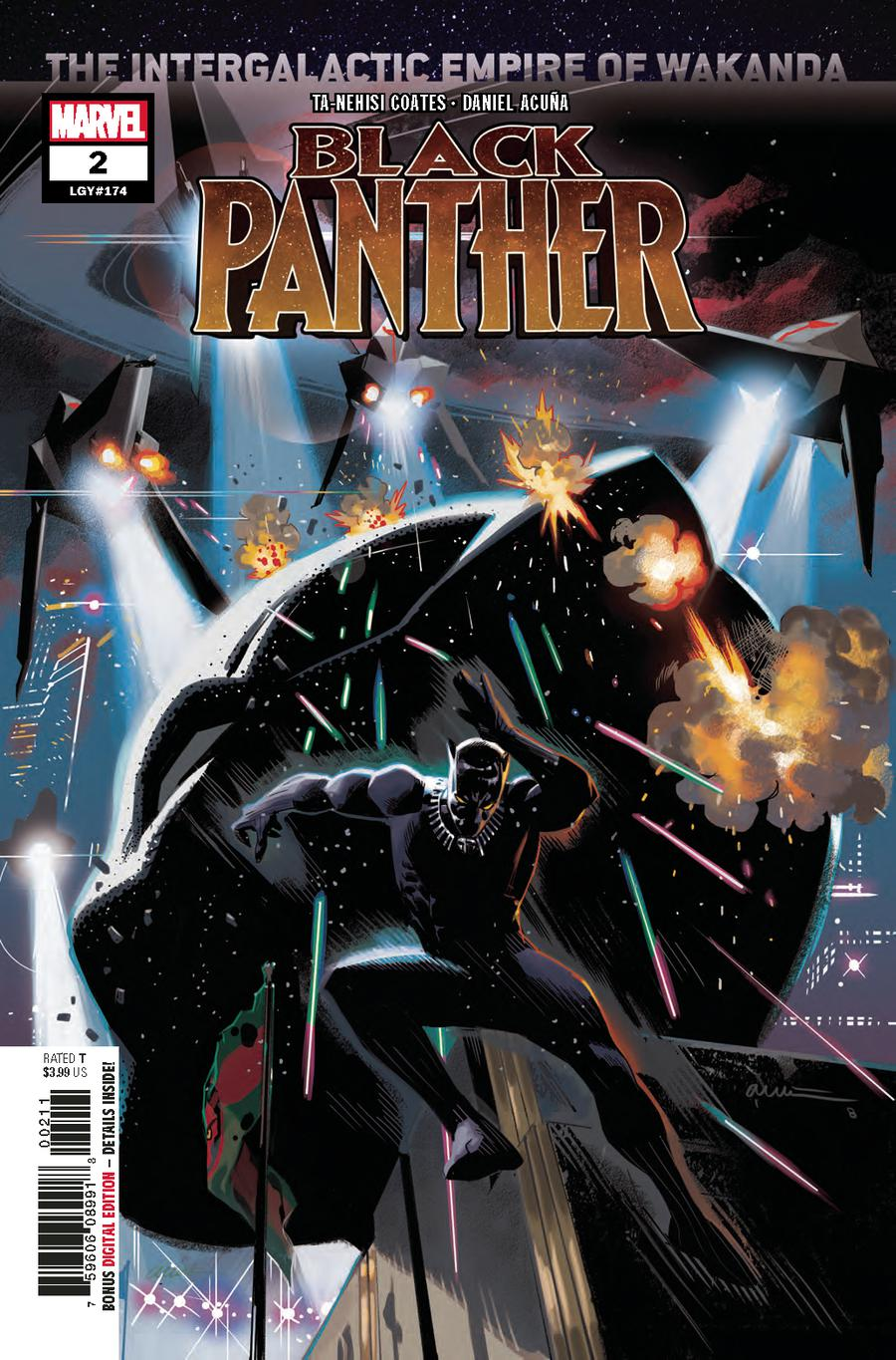 Black Panther #2 - Killmonger Symbiote