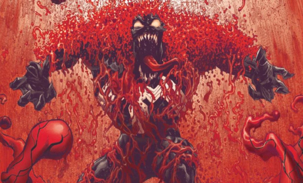 Absolute Carnage #4 - Classified Variant First Look of Anti-Symbiote Suit