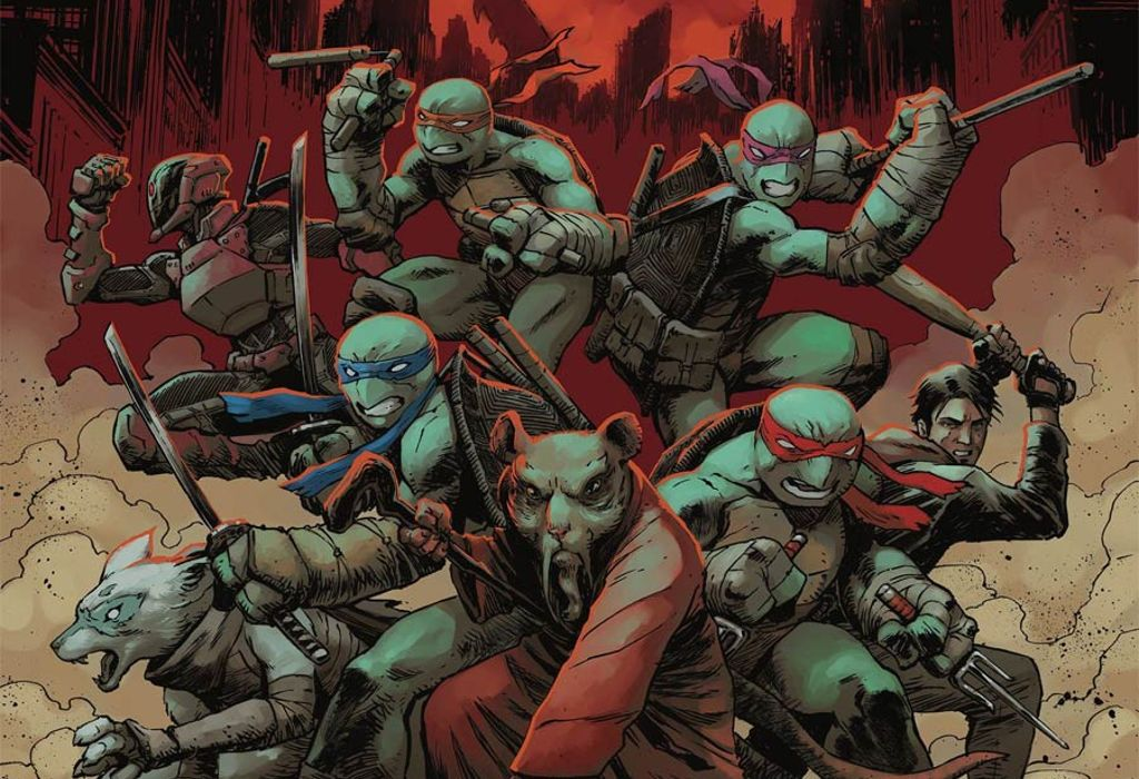 TMNT #100 - A Return & A Death