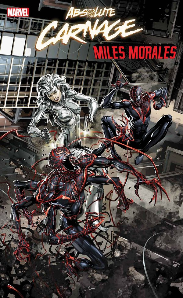 ABSOLUTE CARNAGE MILES MORALES #3 (OF 3) - A New Symbiote?