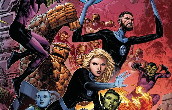 Profiteer First Look - Coming Out Of Empyre Fantastic Four #1